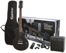 Гитара Epiphone Les Paul Player Pack, Ebony